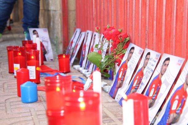 Homenaje de la Federación de peñas // Imagen: Extremadura UD