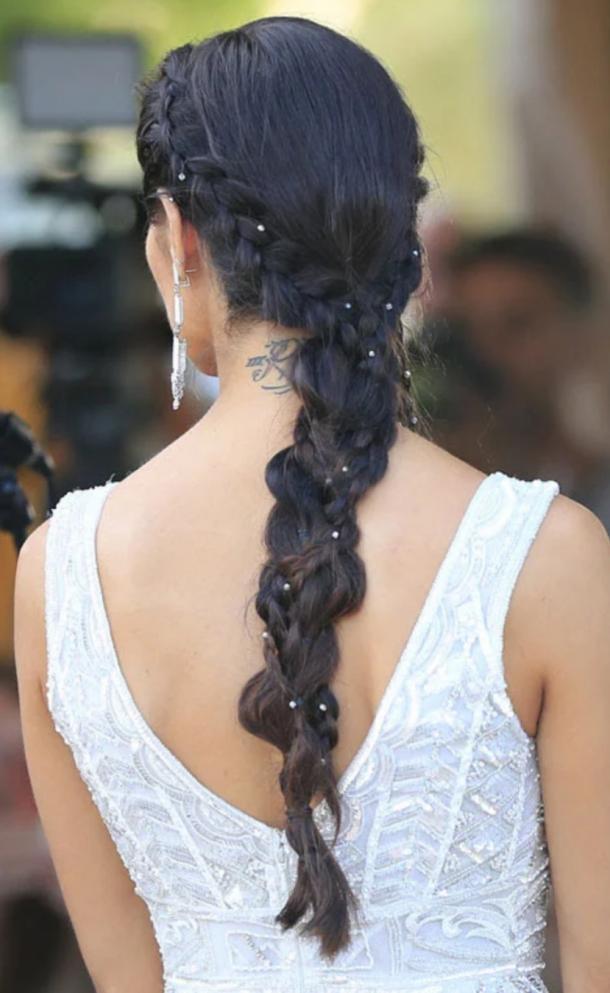 Peinado de Pilar Rubio // foto: 10minutos.com