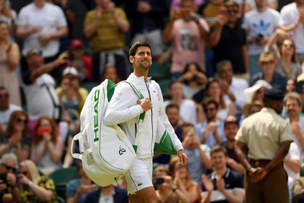 Dkojokiv comenzó su defensa del título. Foto: ATP