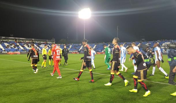Leganés - Rayo de Copa del Rey la temporada pasada.   Foto: Rayo Vallecano S.A.D.