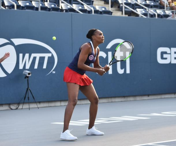 Williams is a staple for the Kastles and draws crowds whenever she plays/Photo: John Lupo/VAVEL USA