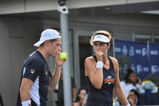 Skupski (l.) and Martinez Sanchez (r.) got the ball rolling for the Empire/Photo: John Lupo/VAVEL USA
