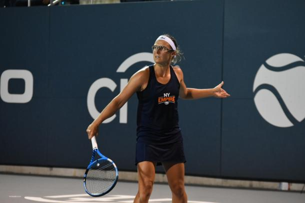 Flipkens and the empire look to continue their fine play on the road/Photo: John Lupo/VAVEL USA
