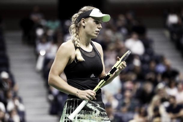 Wozniacki sigue en carrera. Foto: Us Open