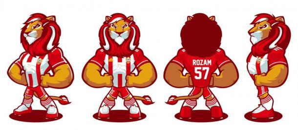 Rozam, la nueva mascota de la UDA   Fuente: UD Almería