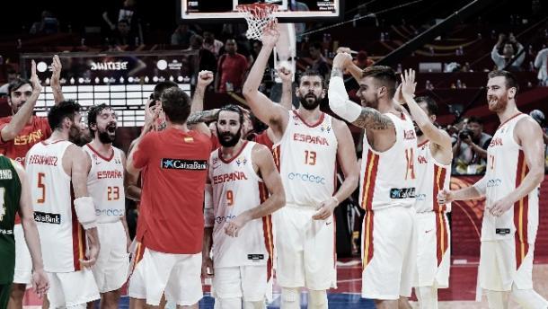 España quiere su segundo mundial. Foto: Baloncesto España