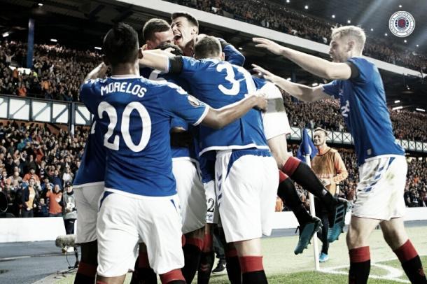 Foto: Divulgação/Rangers FC