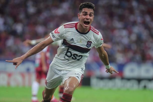 Reinier, o garoto do Ninho (Foto: Alexandre Vidal/Flamengo)
