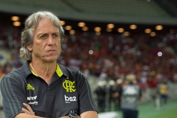 Olê, olê, olê, olê... Mister, Mister (Foto: Alexandre Vidal/Flamengo)