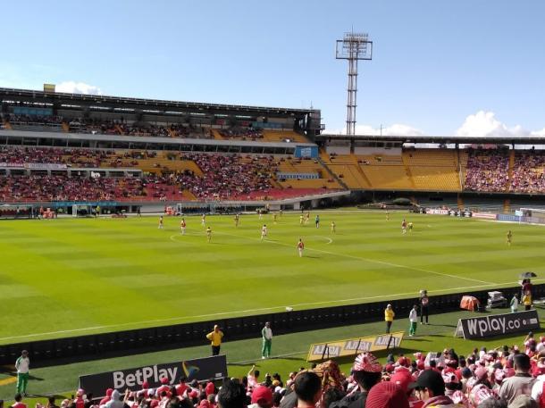 Un sol de postal fue un espectador permanente en el partido de Santa Fe el domingo anterior. Imagen: Jordan Bernal, Vavel Colombia