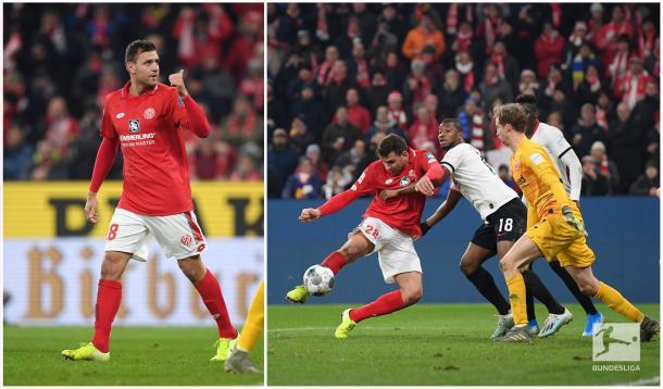 Szalai, o salvador vermelho (Foto: Reprodução/Bundesliga)