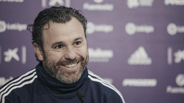 Sergio en rueda de prensa / Foto: Valladolid