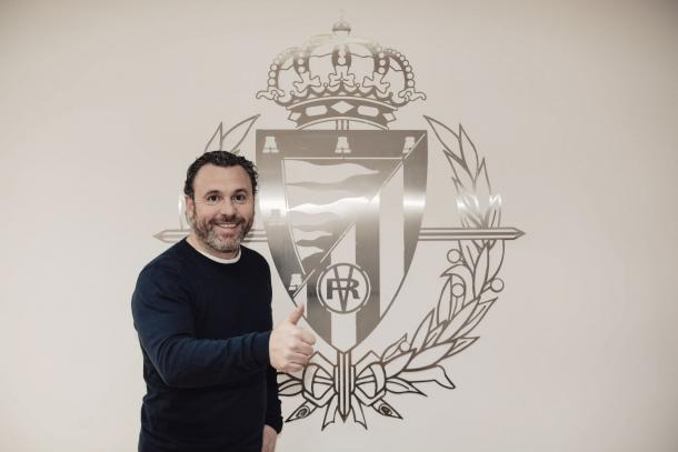 Sergio tras su renovación / Foto: Valladolid