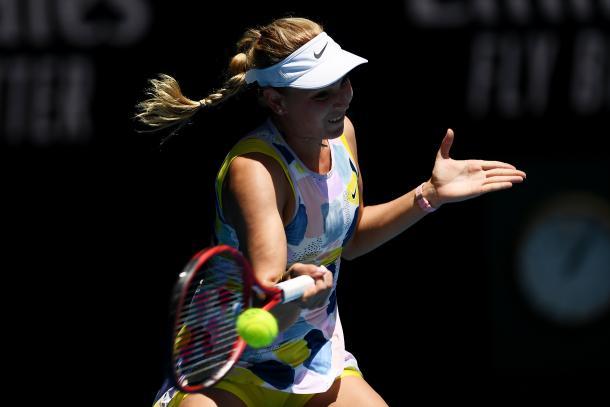 Vekic eliminó a Sharapova. Foto: Australian Open