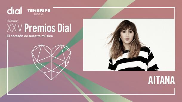 Aitana ganadora del Premio Dial || Fuente Cadena Dial