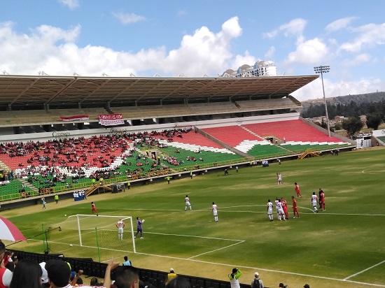 Santa Fe se ubica sexto en la tabla de posiciones de la Liga BetPlay 2020-I, con seis unidades. Imagen: Jordan Bernal, Vavel Colombia.