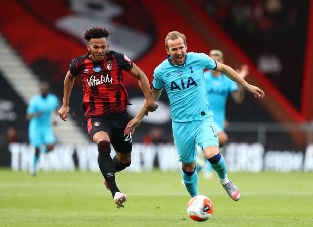 Flojo encuentro de Harry Kane / FOTO: Premier League