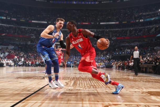 Bam Adebayo en el juego de las estrellas I Foto: NBA.com