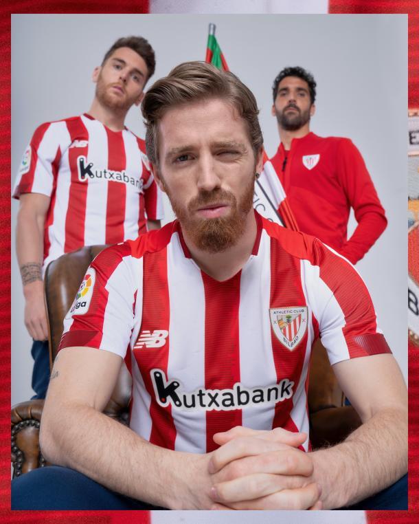 Iker Muniain junto a Ibai Gómez y Raúl Garcia | Foto: Athletic Club