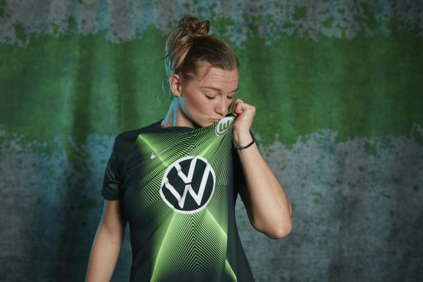 Alex Popp (Foto: Divulgação / Wolfsburg)