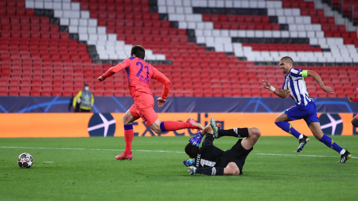 O segundo gol dos Blues (Foto: Divulgação/Chelsea)