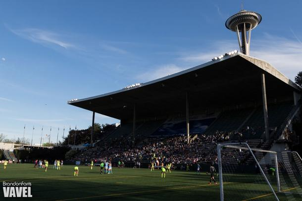 Seattle Reign will host their first home opener against Sky Blue FC on Saturday, April 15th. | Source: Brandon Farris - VAVEL USA