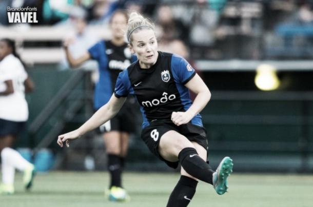 Kim Little left the NWSL as its all-time leading scorer | Source: Brandon Farris - VAVEL USA