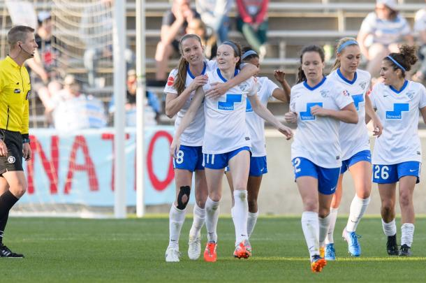 Rose Lavelle scored her second NWSL goal in Week 5 | Source: Boston Breakers