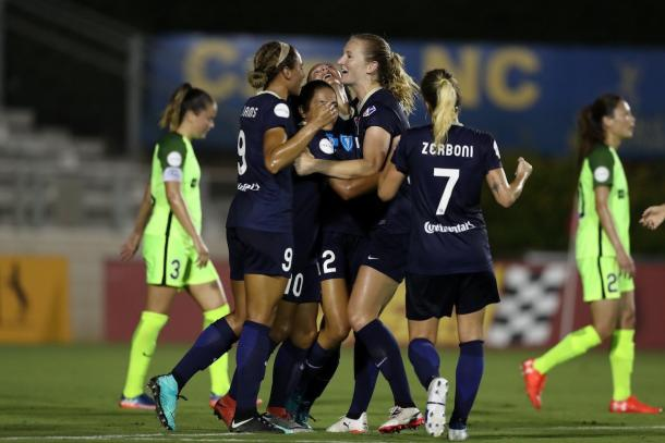 NC Courage comes back from Week 11 with a win against Seattle Reign | Source: NC Courage - Twitter
