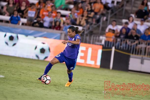 Marta stands in third place with the most goals (8) in the season | Source: E. Sbrana - Earchphoto