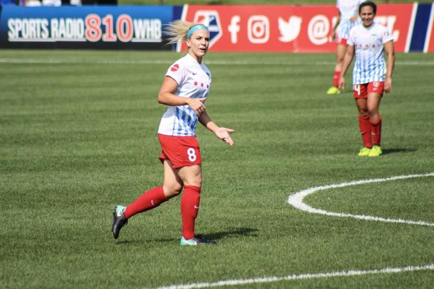 The Red Stars need Julie Ertz at 100% again. | Source: Cindy Lara Photos