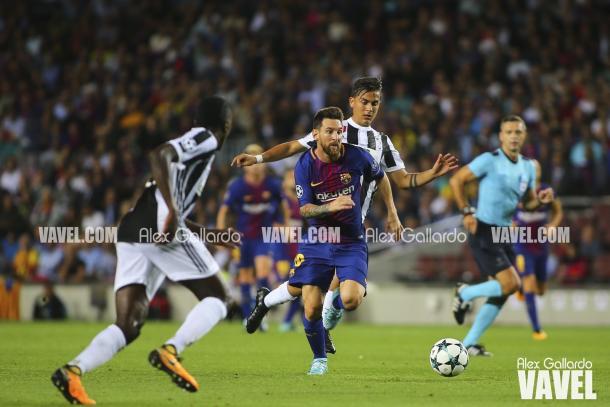 Messi por fin batió a Buffon   Foto: Àlex Gallardo - VAVEL