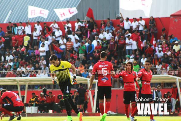 La afición tlaxcalteca siempre respondió en los juegos como local del equipo.