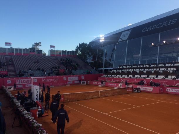 Estádio Millennium at the end of the day at the Millennium Estoril Open (Photo by Pedro Cunha / VAVEL USA)