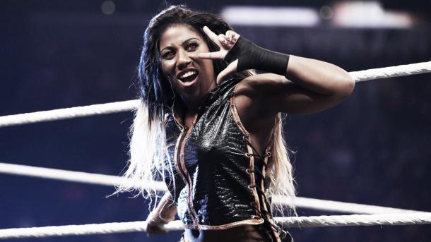 Ember Moon took Asuka to the limit at NXT Takeover: Orlando. Photo: wwe.com