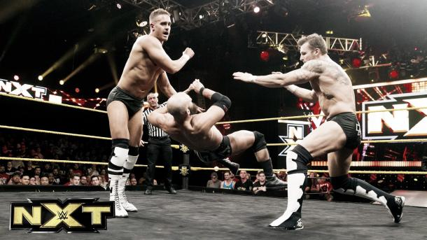 Can TM-61 help keep NXT's tag division afloat? Photo: YouTube