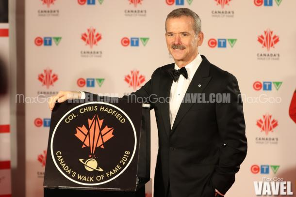 It's official! Chris Hadfield is now a member of Canada's Walk of Fame as an inductee into the Science and Technology category.