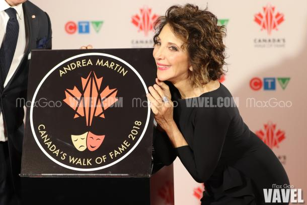 That moment when you realize you have a star on Canada's Walk of Fame…
