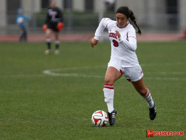 Sydney Miramontez as a collegiate player for the University of Nebraska. | Photo: University of Nebraska - Huskers.com