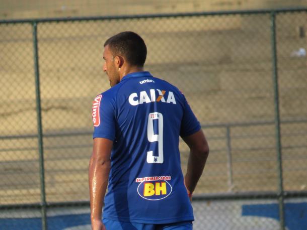 Ábila herdará camisa 9 deixada por Willian, negociado com Palmeiras (Foto: Matheus Adler/VAVEL Brasil)