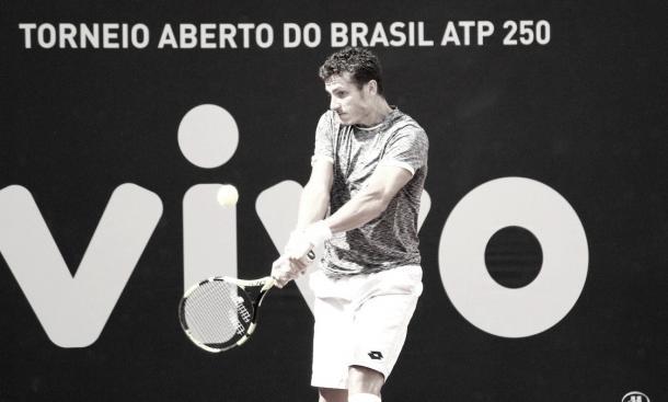 Alessandro Giannessi no Brasil Open 2017/ Foto: Renato Miyaji/ VAVEL Brasil