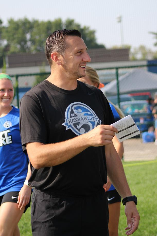 Andonovski built a strong team in 2014 and 2015 in Kansas City. Source: Cindy Lara - VAVEL USA