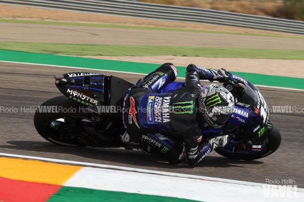Viñales durante el segundo entrenamiento en Motorland. Foto: Rocío Hellín | Vavel España.