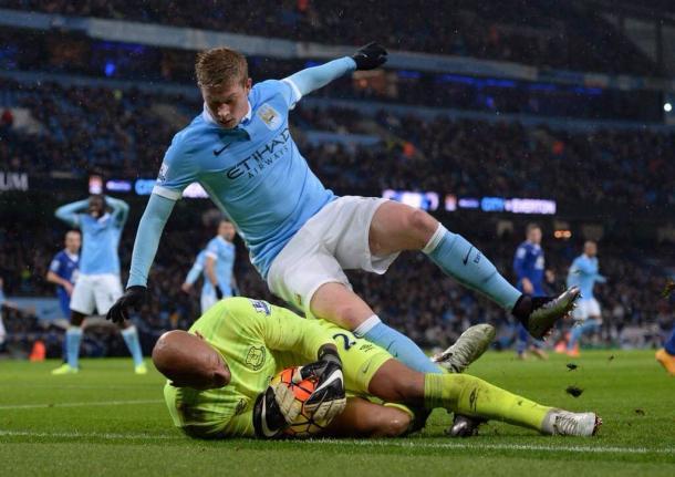 Howard fue uno de los jugadores más destacados del partido| Foto: Everton