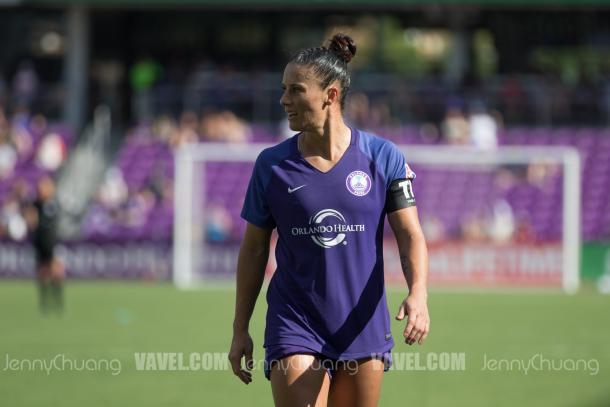 Ali Krieger anchors a strong Orlando Pride defense | Photo: Jenny Chuang - VAVEL USA
