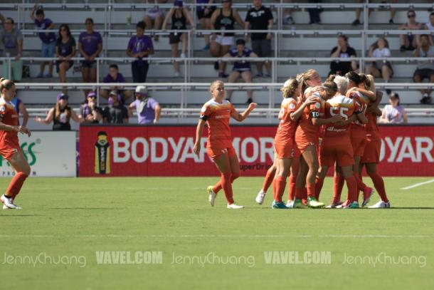 A six-game unbeaten streak this season was a reason to celebrate | Source: Jenny Chuang - VAVEL USA