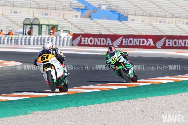 Zaccone pasó a liderar la carrera dejando a Montella segundo. Foto: Rocío Hellín | Vavel España.