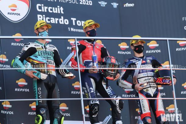 Imagen de podio. Foto: Rocío Hellín | Vavel España.
