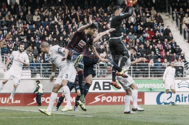 Jornada 13, encuentro entre el SD Eibar y el Real Madrid. FOTO: SD Eibar