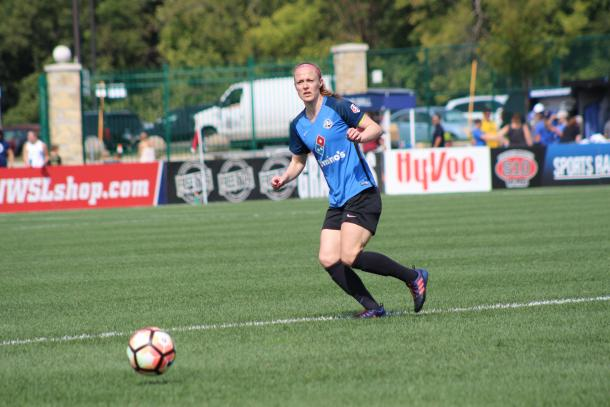 Becky Sauerbrunn anchored the FCKC defense in 2017 as they began to turn its season around | Source: Cindy Lara - VAVEL USA